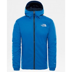 MAN JACKET NORTH FACE QUEST INSULATED JACKET TURKISH SEA BLACK HEATHER