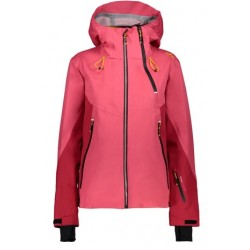 CMP WOMAN JACKET FIX HOOD CORALLO 38W0866