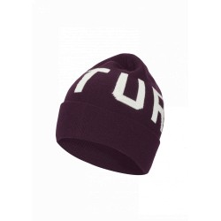 WOMAN BEANIE PICTURE IGOR PURPLE