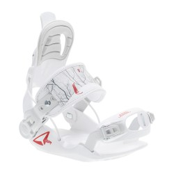 SP KIDDO WHITE 2019 JUNIOR SNOWBOARD BINDINGS