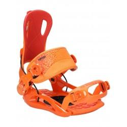 SP RAGE FT270 ORANGE/RED MAN SNOWBOARD BINDINGS