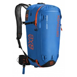 ZAINO ORTOVOX ASCENT 30L AVABAG KIT BLUE OCEAN