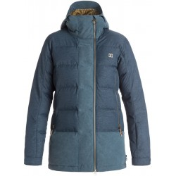 WOMAN SNOWBOARD JACKET DC LIBERTY JACKET INSIGNA BLUE