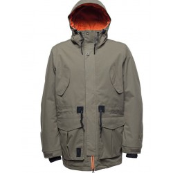 MAN SNOWBOARD JACKET L1 PREMIUM GOODS ESSEX UKT JACKET MILITARY