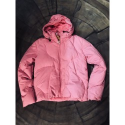 WOMAN SNOWBOARD JACKET ROXY BELOW ZERO ELDEVEN BRIGHT PINK