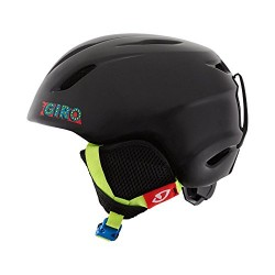 GIRO LAUNCH BLACK SKIBALL COMBO PACK YOUTH SKI/SNOWBOARD HELMET