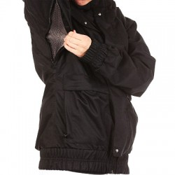 WOMAN SNOWBOARD JACKET BURTON TABLOID JACKET TRUE BLACK