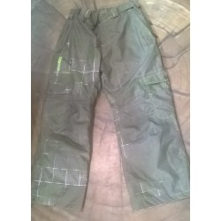 MAN SNOWBOARD PANT SALOMON GREEN