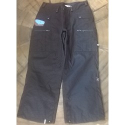 MAN SNOWBOARD PANT BONFIRE SAMPLES BLACK