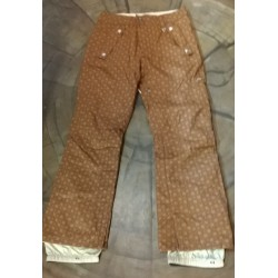 PANTALONE SNOWBOARD DONNA NITRO GET UP AND GO BROWN MONARCH PANT