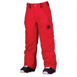 JUNIOR SNOWBOARD PANT BONFIRE BURLY PANT FIRE