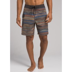 MAN PRANA SANDER BOARDSHORT BLACK SUNRISE