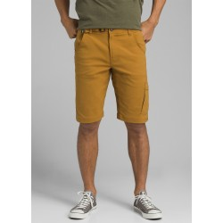 "MAN SHORT PRANA STRETCH ZION SHORT 12"" BRONZED"