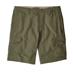 MAN SHORTS PATAGONIA WAVEFARER CARGO SHORTS INDUSTRIAL GREEN 20""