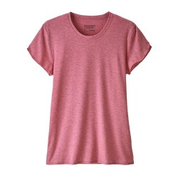 WOMAN T-SHIRT PATAGONIA GLORYA TEE REEF PINK