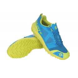 SHOES RUNNING TRAIL SCOTT KINABALU BLUE/YELLOW