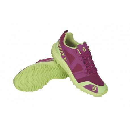 SCARPE CORSA TRAIL SCOTT KINABALU PURPLE/GREEN