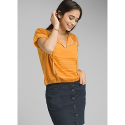 CAMICIA DONNA PRANA MISTICO TOP CURRY