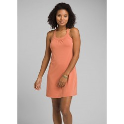 WOMAN PRANA CANTINE DRESS TOASTED TERRACOTTA