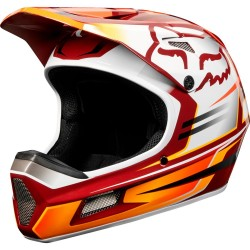 HELMET DOWNHILL MOUNTAIN BIKE FOX RAMPAGE COMP HELMET CARDINAL