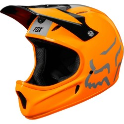 HELMET DOWNHILL MOUNTAIN BIKE FOX RAMPAGE HELMET BLACK