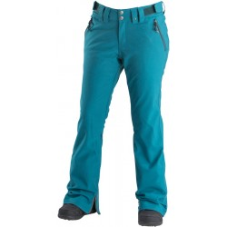 SNOWBOARD PANT AIRBLASTER WOMAN STRETCH CURVE PANT BLUE CORAL