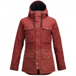 SNOWBOARD JACKET AIRBLASTER WOMAN FREEDOM PARKA OXBLOOD