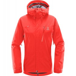 HAGLÖFS GORE-TEX 2L JACKET HAGLÖFS ASTRAL WOMAN JACKET REAL RED