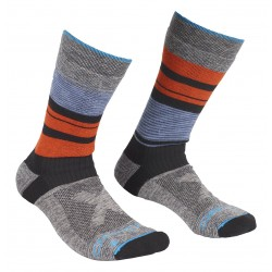 CALZA ORTOVOX ALL MOUNTAIN MID SOCKS WARM MULTICOLOUR