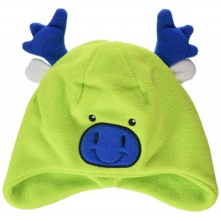 CMP KIDS FLEECE HAT 6505111J LIMEGREEN E413