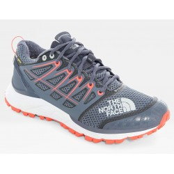 WOMAN TRAIL RUNNING SHOES NORTH FACE ULTRA ENDURANCE II GORE - TEX GRIS GREY/FIERY C