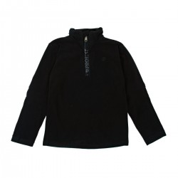 PROTEST PERFECT ZIP FLEECE BLACK