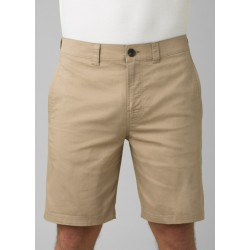"MEN PRANA MARLON CHINO SHORT PANT 8"" DARK KHAKI"