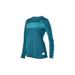 WOMAN DOWNHILL MOUNTAIN BIKE FOX RANGER DRIRELEASE LONG SLEEVE JERSEY BLU