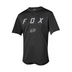 T-SHIRT UOMO BICI DOWNHILL MOUNTAIN BIKE FOX FLEXAIR SS MOTH JERSEY BLACK