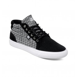 SCARPE DC COUNCIL MID SE BLACK/WHITE/GREY