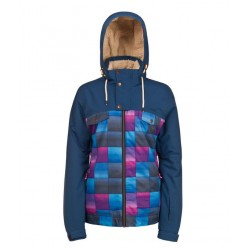 GIACCA SNOWBOARD PROTEST REAGAN JACKET EARTH BLUE