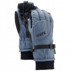 GUANTO DONNA BURTON PELE GLOVE BLUE DENIM