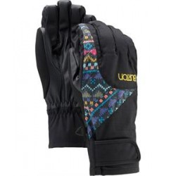 WOMAN BURTON APPROACH GLOVE TRUE BLACK/FUN FAIR