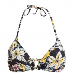 BIKINI BILLABONG TRIANGLE TROPICAL BLACK FLORAL