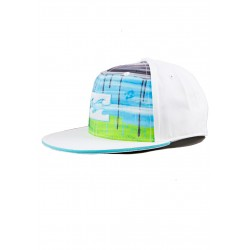 CAPPELLINO BILLABONG DRIPS CAP WHITE