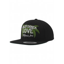 URBAN CLASSIC CALIFORNIA PALMS SNAPBACK BLACK