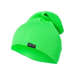 NEON LONG BEANIE GREEN