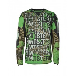 MAN ZIMTSTERN CONNORZ LONG SLEEVE BIKE JERSEY GREENER