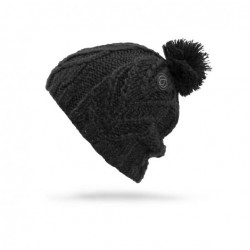 WOMAN BEANIE VOLCOM LEAF BEANIE BLACK