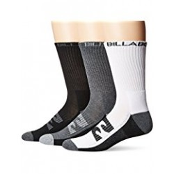 BILLABONG SOCK SPORTS 3 PACK ASSORTED