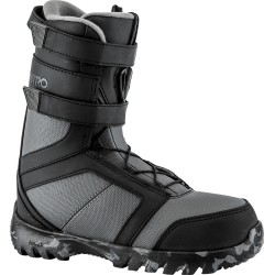 JUNIOR SNOWBOARD BOOTS NITRO ROVER YOUTH ELS BLACK/CHARCOAL