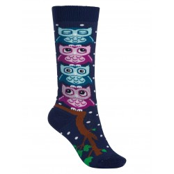 CALZA BIMBO BURTON YOUTH PARTY SOCK OWLS