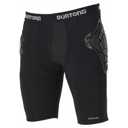 SHORT UOMO BURTON TOTAL IMPACT SHORT TRUE BLACK