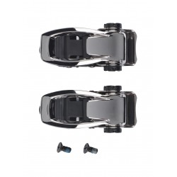 SNOWBOARD BURTON ANKLE BUCKLE SET BLACK